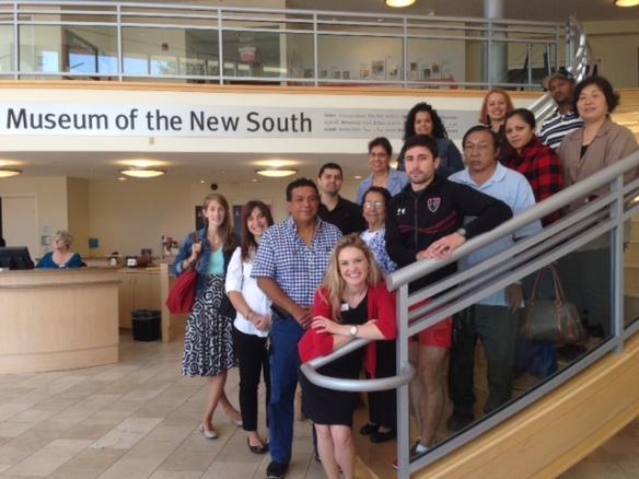 ESL class in Levine Museum